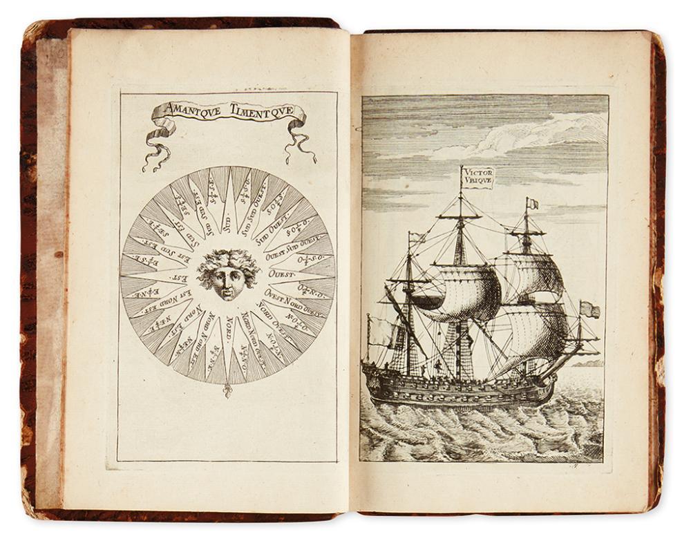 DESROCHES. Dictionaire des Termes Propres de Marine.
