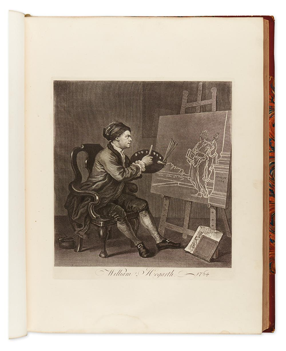 HOGARTH, WILLIAM. The Works, from the Original Plates Restored by James Heath.