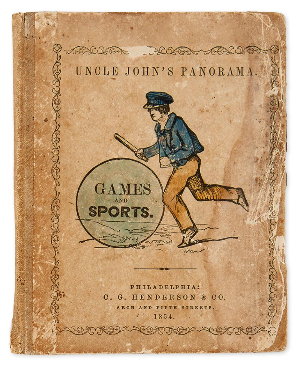 (JUVENILE - GAMES.) Uncle John''s Panorama. Games and Sports.