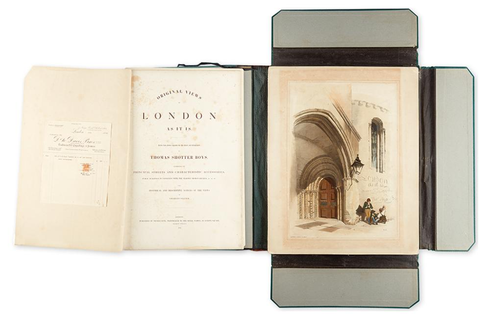 (LONDON.) Boys, Thomas Shotter. Original Views of London As It Is.