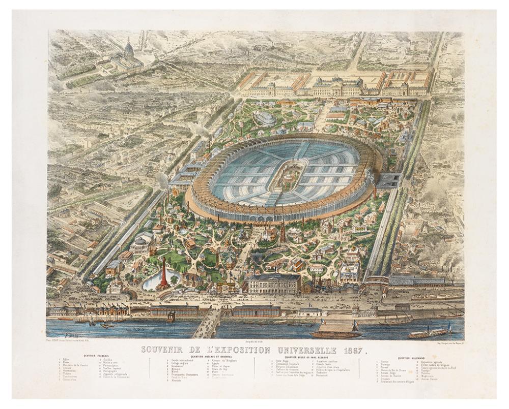 (PARIS.) Deroy, Isidore Laurent. Souvenir de L''Exposition Universelle 1867.