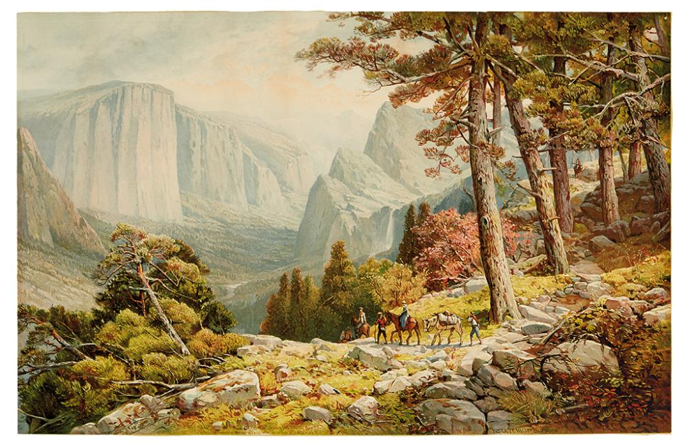 (YOSEMITE.) Melrose, Andrew. Yosemite Valley California (from Mariposa Trail).