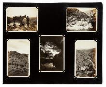(ARIZONA.) Album of approximately 220 mounted vernacular photographs.