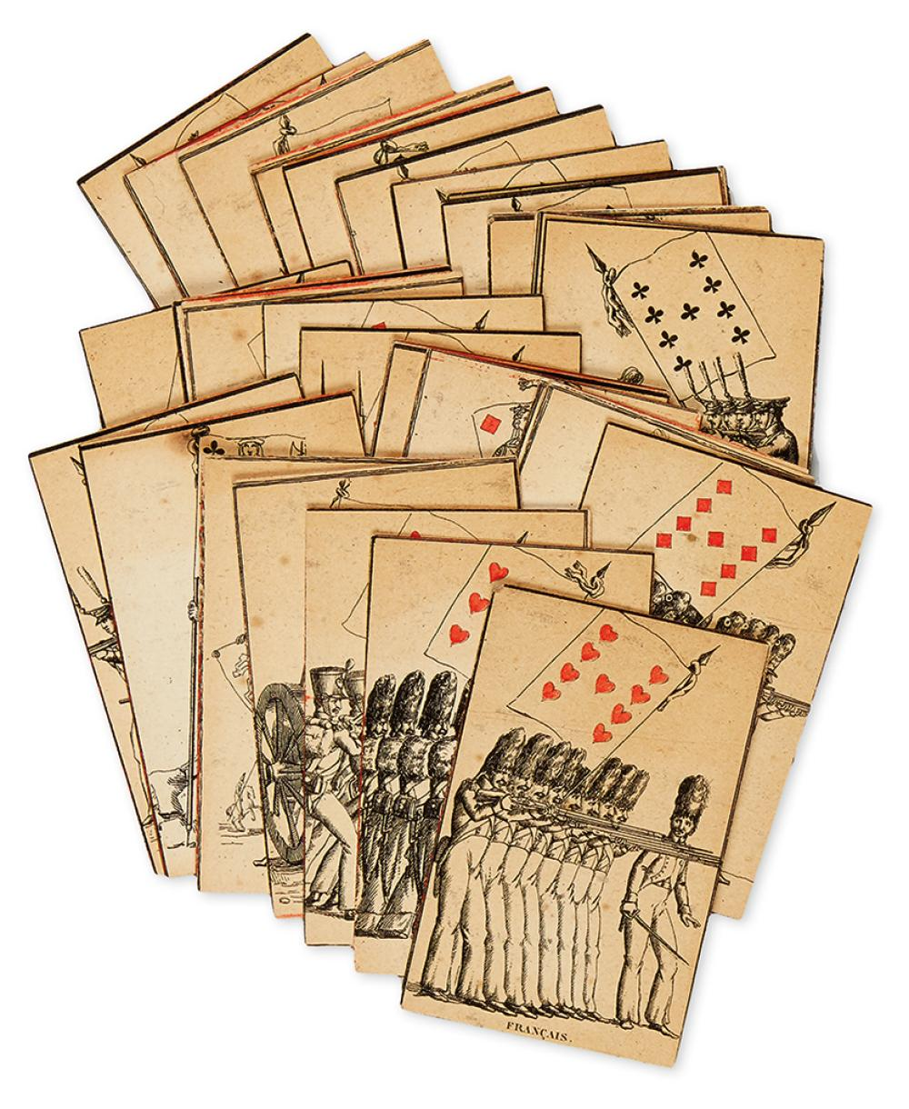 (PLAYING CARDS.) Jeu des Drapeaux [Flag Deck].