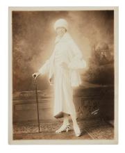 BAKER, JOSEPHINE. Photograph Signed and Inscribed,