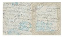 WATERS, ETHEL. Lengthy Autograph Letter, unsigned, to Natalie Hammond (