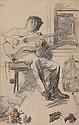 CHARLES NICHOLAS SARKA (American, 1879-1960) Spanish Fandango., Charles Nicolas Sarka, Click for value