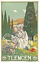 LÉON CARRÉ (1878-1942). TLEMCEN / PLM. 1929. 39x24 inches, 100x63. Lith. Baconnier, Alger., Leon Carre, Click for value