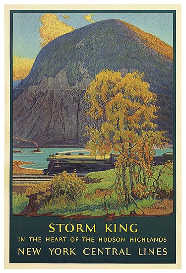 WALTER L. GREENE (1870-1956). STORM KING. 1928. 40x26 inches, 102x66 cm. Latham Litho & Printing Co., New York.