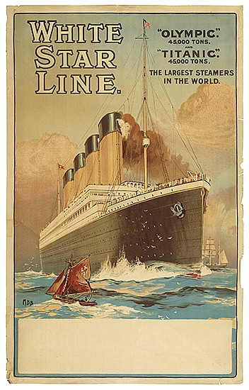 MONTAGUE BIRREL BLACK (1884 - ?). WHITE STAR LINE /
