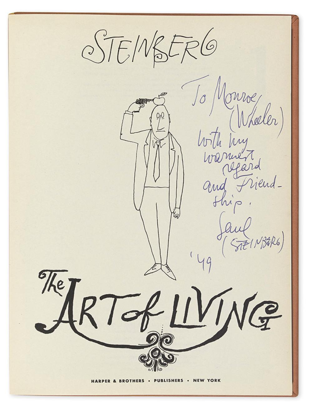 steinberg saul all in line the art of living