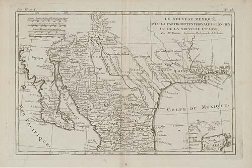 BONNE, RIGOBERT.  Atlas de Toutes les Parties Connues du Globe Terrestre.  50 engraved double-page maps. 4to, contemporary speckled calf, front cover