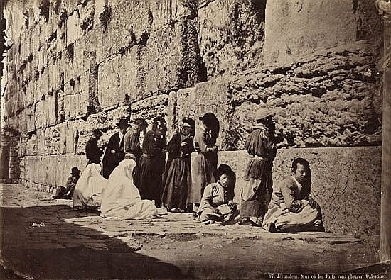 (HOLY LAND & GREECE) bonfils, felix Album with 34 photographs, including