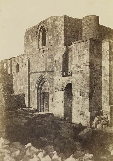SALZMANN, AUGUSTE (1824-1872) Jerusalem.