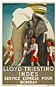POSTER: MARCELLO DUDOVICH (1878-1962). LLOYD, Marcello Dudovich, Click for value