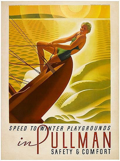 POSTER: WILLIAM P. WELSH (1889- ?). SPEED TO