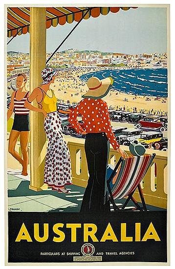 POSTER: PERCY TROMPF (1902-1964). AUSTRALIA.