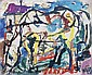 MAURICE BECKER Horse Drinking., Maurice Becker, Click for value