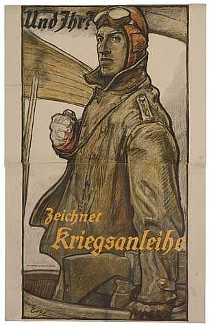POSTER: FRITZ ERLER (1868-1940). UND IHR? Cir