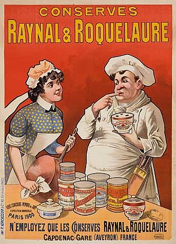 POSTER: MARCELLIN AUZOLLE (1862-1942). CONSER