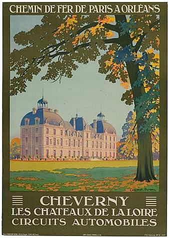 POSTER: LEON CONSTANT DUVAL (1877-?). CHEVERN