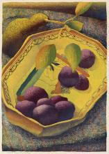 LUIGI RIST Fruit Dish.