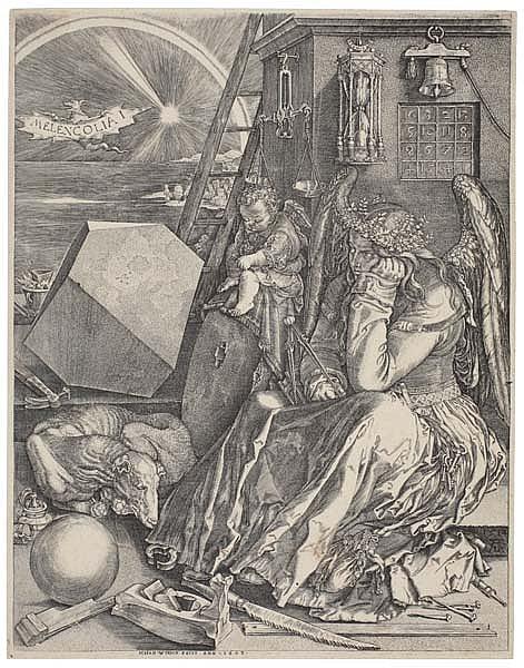 JOHANNES WIERICX  (after Dürer)Melancolia I