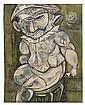 CHARLES SEBREE (1914 - 1985) The Drunk Harlequin., Charles Sebree, Click for value