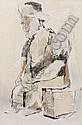 BENNY ANDREWS (1930 - 2006) Seated Figure., Benny Andrews, Click for value