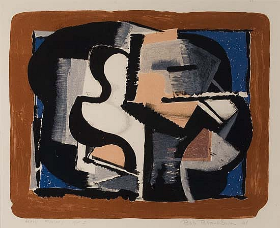 ROBERT BLACKBURN (1920 - 2003) Heavy Forms.