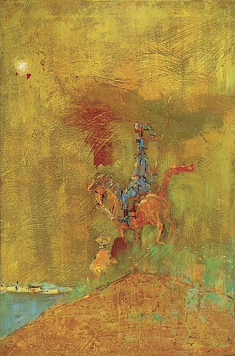 ALVIN CARL HOLLINGSWORTH (1928 - 2000) Hilltop (Don Quichote).