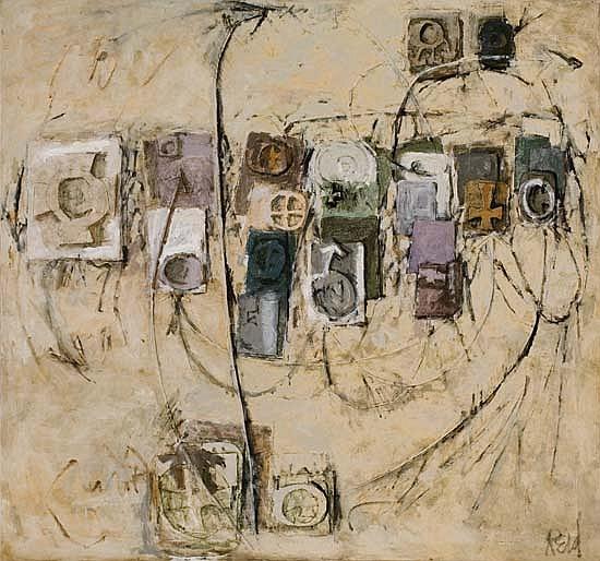 ROBERT REID (1924 - 2002) Solitaire I.
