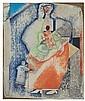 ROMARE BEARDEN (1911 - 1988) Mother and Children., Romare Howard Bearden, Click for value