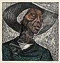 ELIZABETH CATLETT (1915 -   ) Sharecropper., Elizabeth Catlett, Click for value