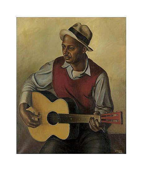 SAMUEL COUNTEE (1909 - 1959) My Guitar.