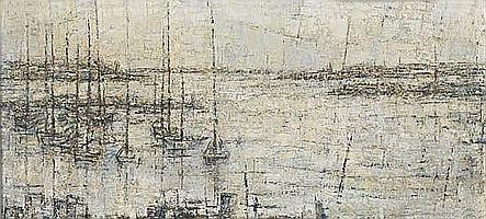 DELILAH WILLIAMS PIERCE (1904 - 1992) Dawn--Vineyard Sound.