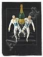 SEPO (SEVERO POZZATI, 1895-1983). [CHAMPAGNE.] Gouache maquette. Circa 1930. 29x21 inches, 74x55 cm. Coen & Co., Milan,, Severo Pozzati, Click for value