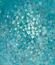 DELILAH W. PIERCE (1904 - 1992) Nebulae Patterns, #2.