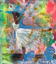 LOUIS DELSARTE (1944 - 2020) The Dance.