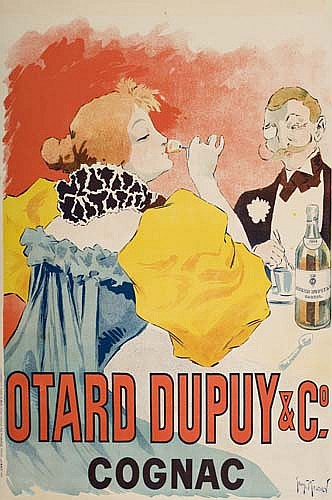 Poster: GEORGES MEUNIER (1873-1922) OTARD DUPUY & CO. COGNAC.