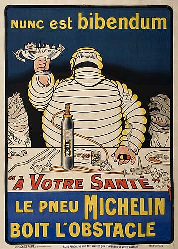 Poster: O' GALOP (MARIUS ROSSILLON 1867-1946) NUNC EST BIBEN