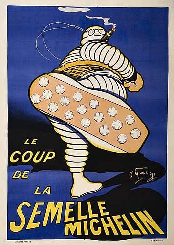 Poster: O'GALOP (MARIUS ROSSILLON, 1867-1946) LE COUP DE LA