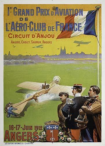 Poster: ERNEST LOUIS LESSIEUX (1848-1925) & CAREY GRAND PRIX