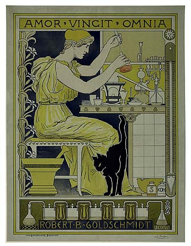 Poster: ADOLPHE CRESPIN (1859-1944) ROBERT B. GOLDSCHMIDT. Ci