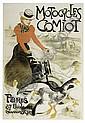 Poster: THÉOPHILE-ALEXANDRE STEINLEN (1859-1923) MOTOCYCLES C, Theophile Alexandre Steinlen, Click for value