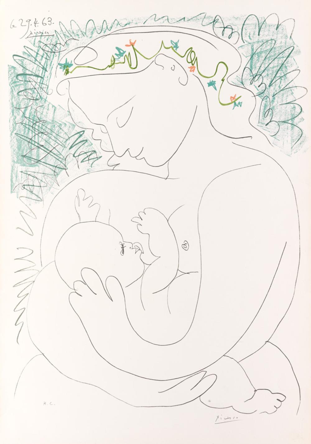 PABLO PICASSO (after) Grande Maternité