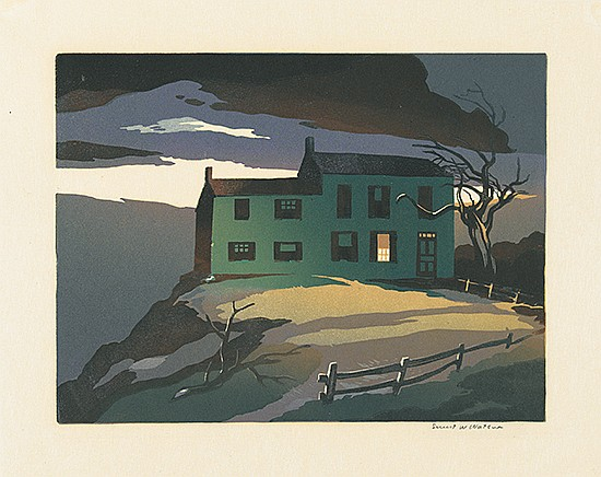 ERNEST WATSON Three prints.