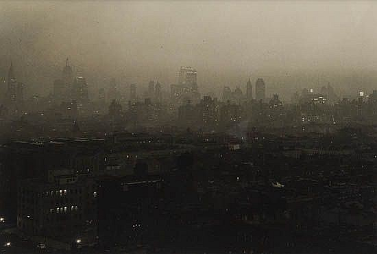 WOOLF, PAUL (1899-1985) Group of 3 photographs of the New York City skyline.