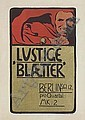 ANGELO JANK (1868-1940) LUSTIGE BLAETTER. 1898., Angelo Jank, Click for value