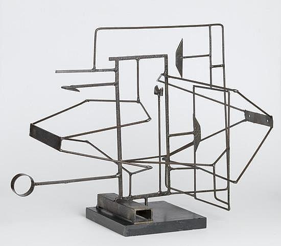 HAROLD COUSINS (1916 - 1992) Composition.